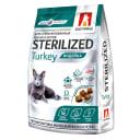 Полнорационный сухой корм для стерилизованных кошек и котов Sterilized, Индейка/Turkey, 0.35кг