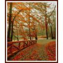 Алмазная мозаика ArtXobby Осенний парк АМ033