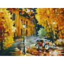 Картина по номерам на картоне Белоснежка Город Город 3023-CS