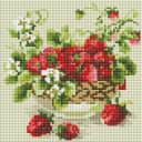 Алмазная мозаика Белоснежка Садовая земляника 394-ST-S