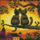 Алмазная мозаика Белоснежка Две Кошки 016-ST-S