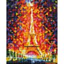 Алмазная мозаика Белоснежка Эйфелевой башни 002-ST-PS