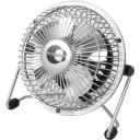 Вентилятор настольный мини ø10 см 15 Вт, серебро Lara Equation