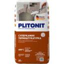 Плитонит СуперКамин ТермоШтукатурка белая 25 кг