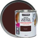 Эмаль для пола и лестниц Luxens цвет красное дерево 1.9 кг