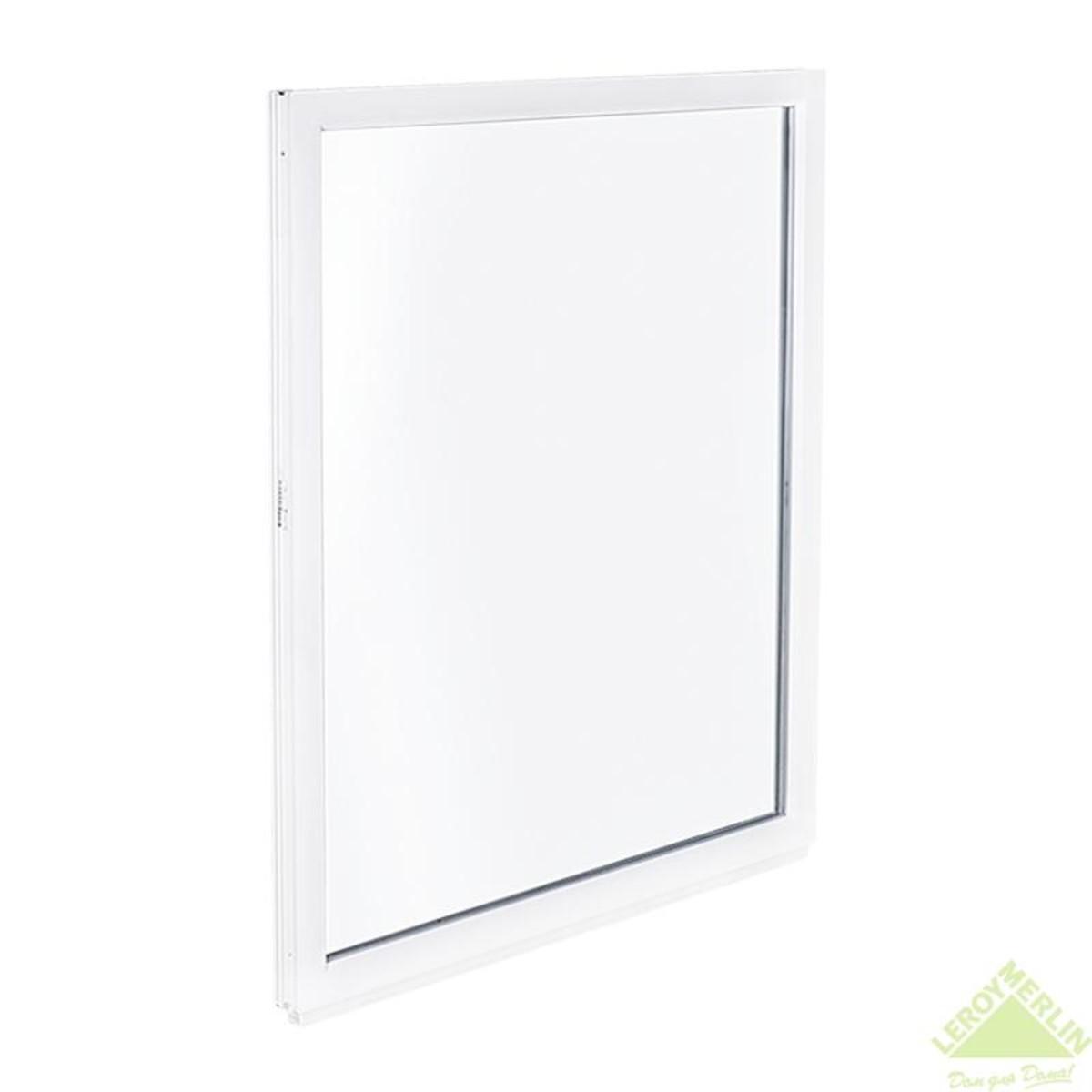 Окно ПВХ трехстворчатое 205x140 см глухое/поворотно-откидное правое/глухое