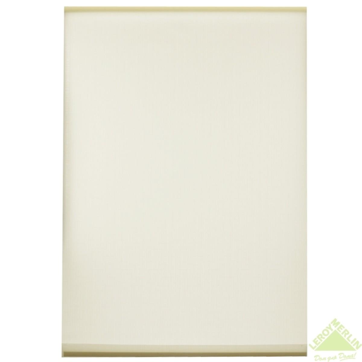 Мини-штора рулонная Shantung 50х175 см цвет белый