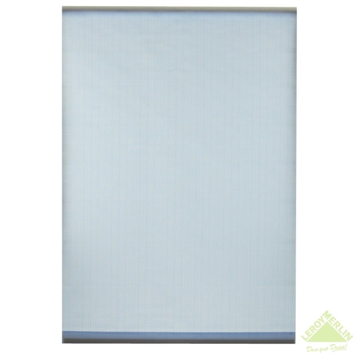 Мини-Штора рулонная Shantung 40х175 см цвет голубой