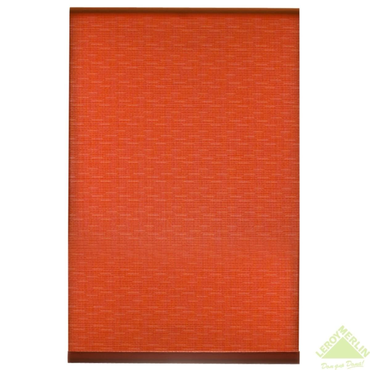 Мини-Штора рулонная Shantung 40х175 см цвет бордовый