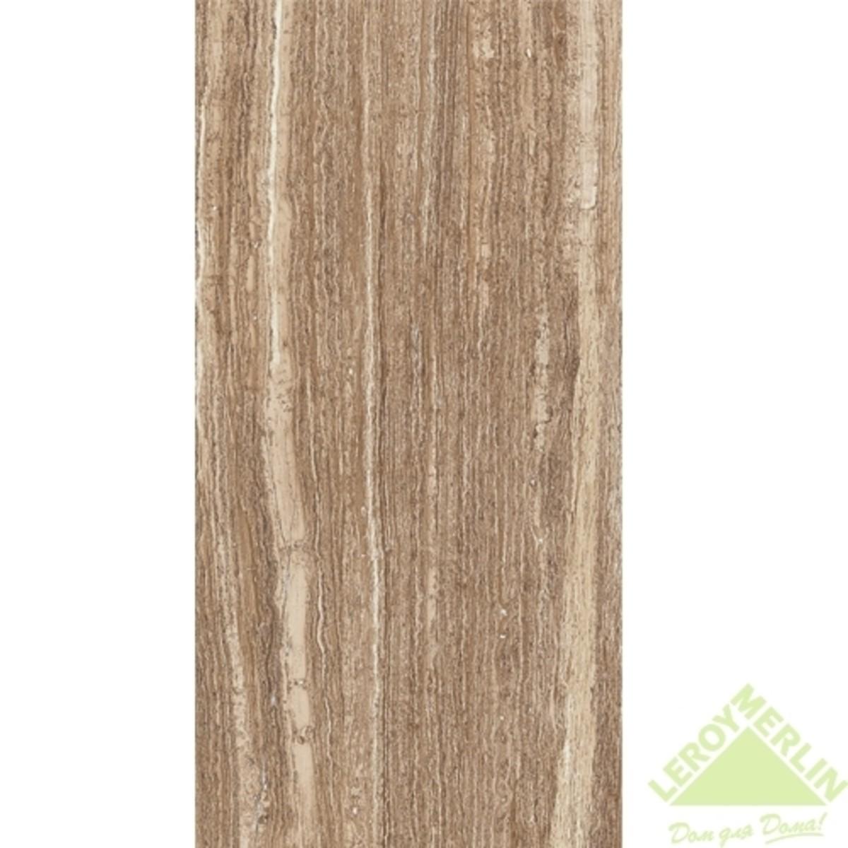 Плитка настенная Флоренция цвет темно-коричневый 60х30 см 162 м2