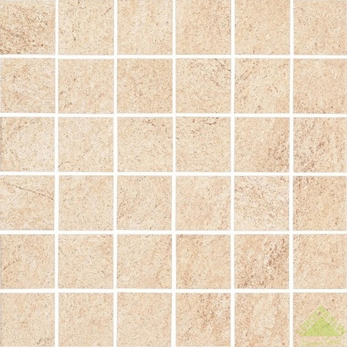 Вставка Karoo beige mozaic 29.7x29.7 см цвет бежевый