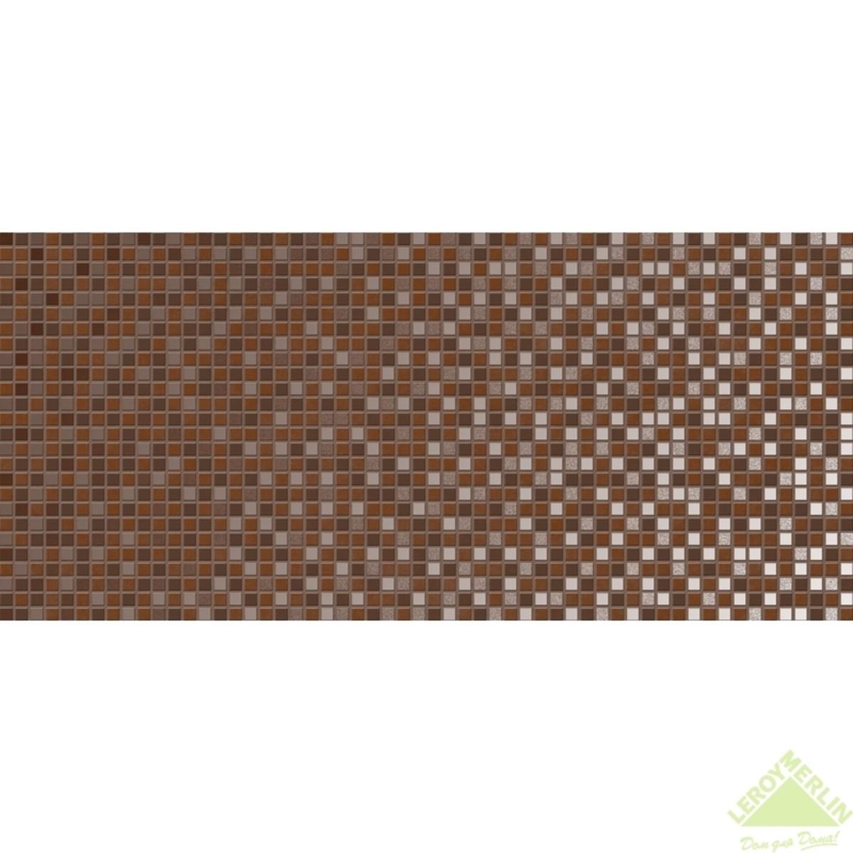 Декор Escada Mosaic темный 20x44 см