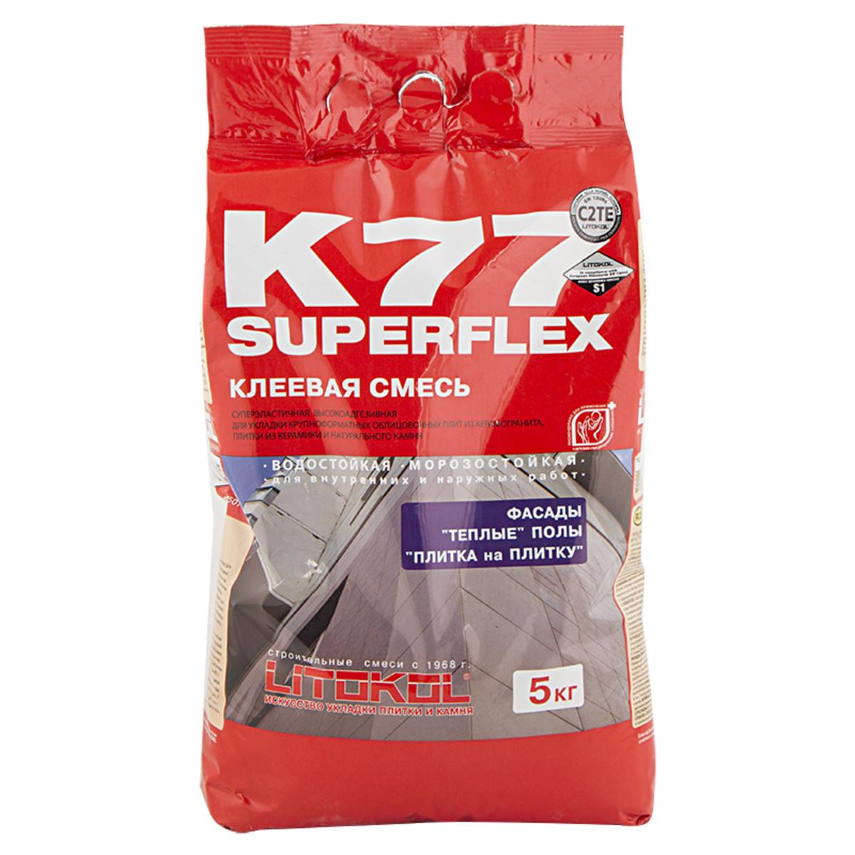 Клей Superflex K77 5 кг