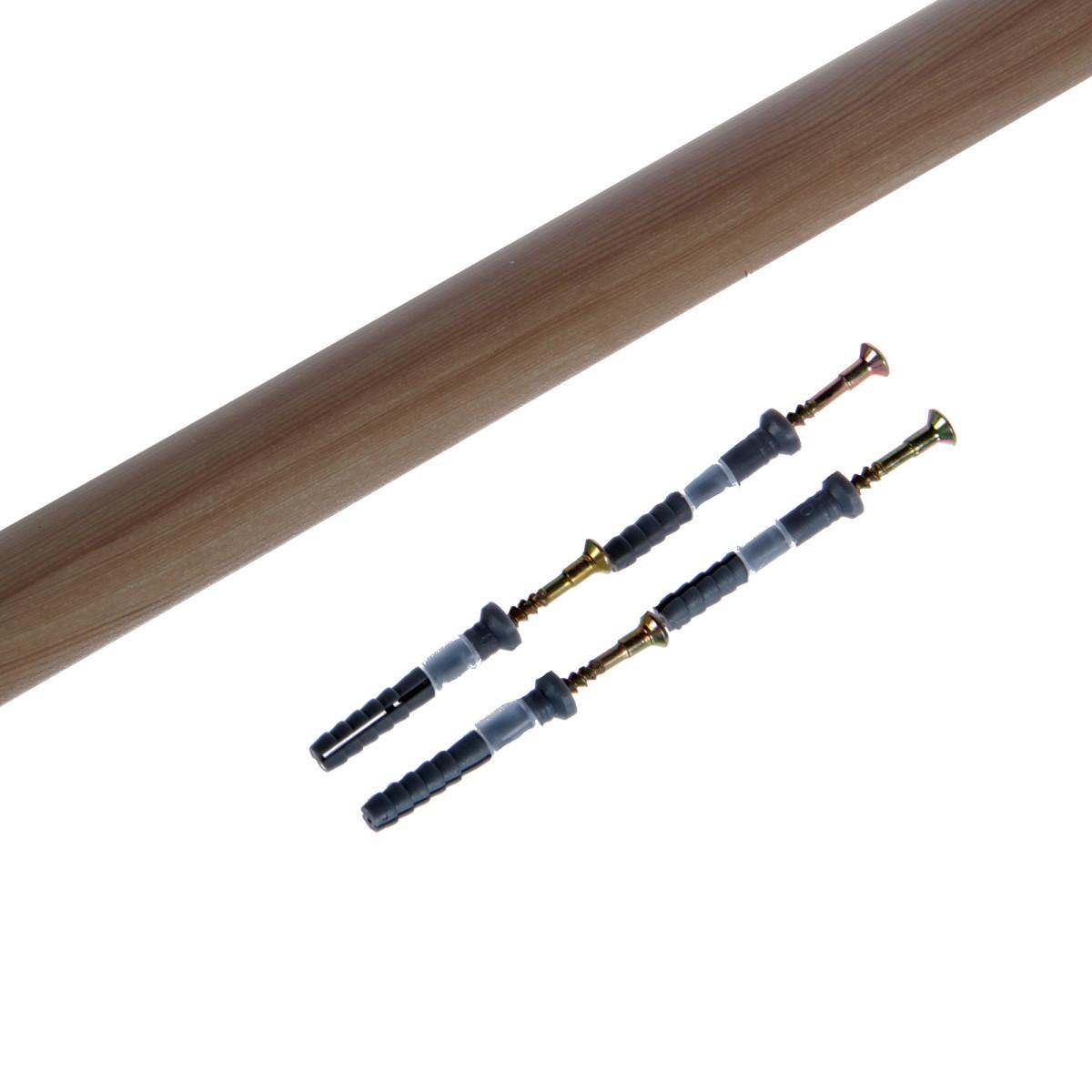 Порог одноуровневый (стык) с дюбелем 30х900 мм береза