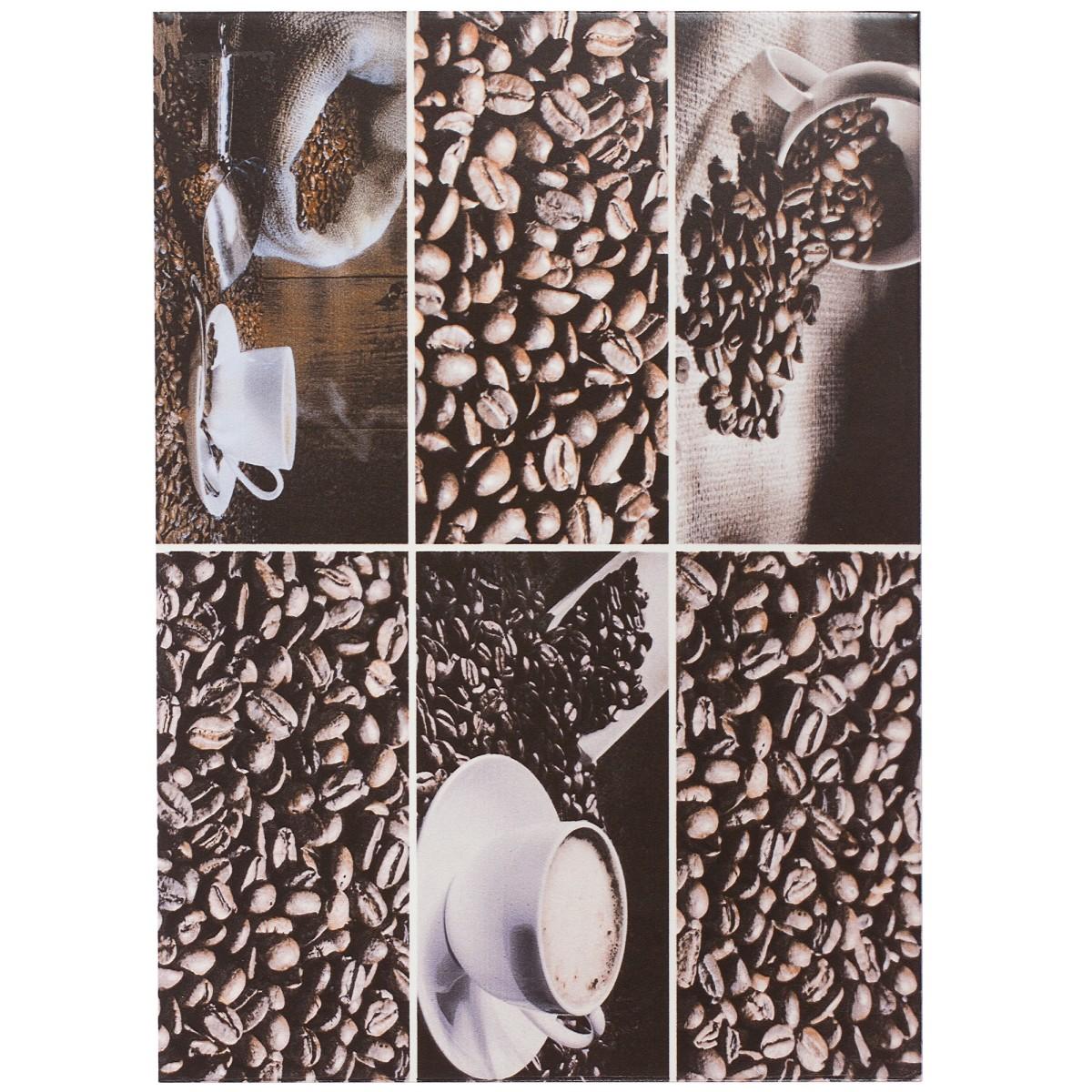 Вставка Арабика D1 25х35 см цвет мультиколор