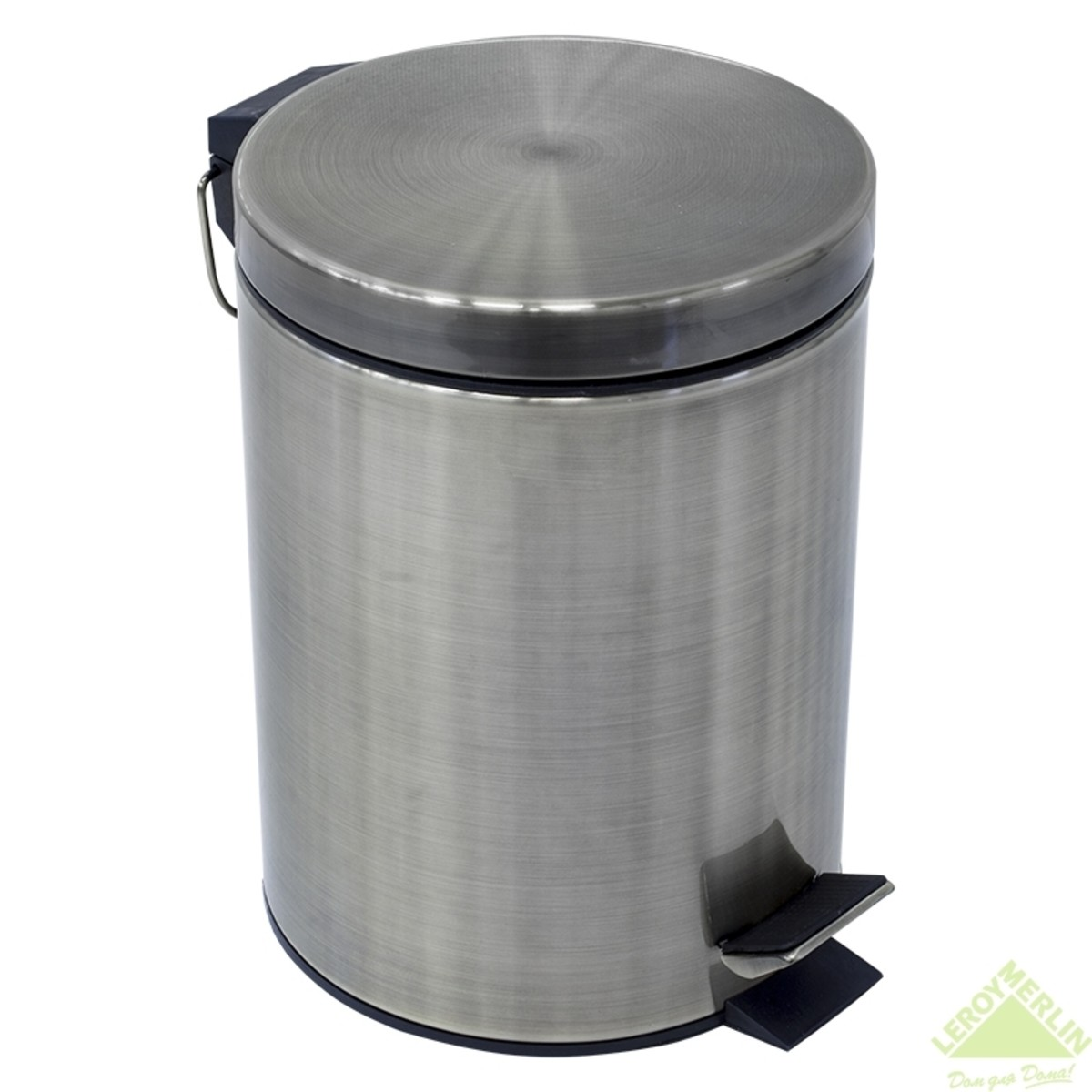 Бак для мусора 5 л цвет бронза
