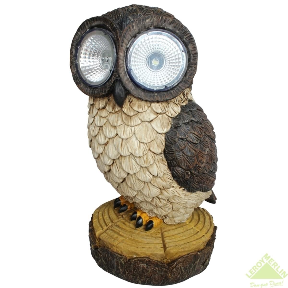 Светильник на солнечных батареях Inspire светодиодный Owl-2 26 см каучук