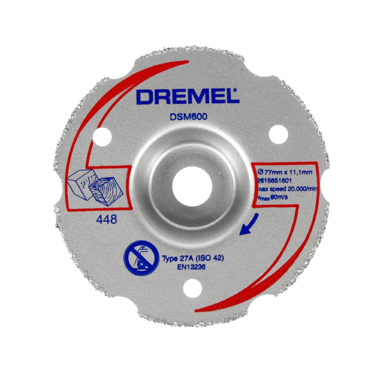 Круг для резки заподлицо для Dremel DSM20