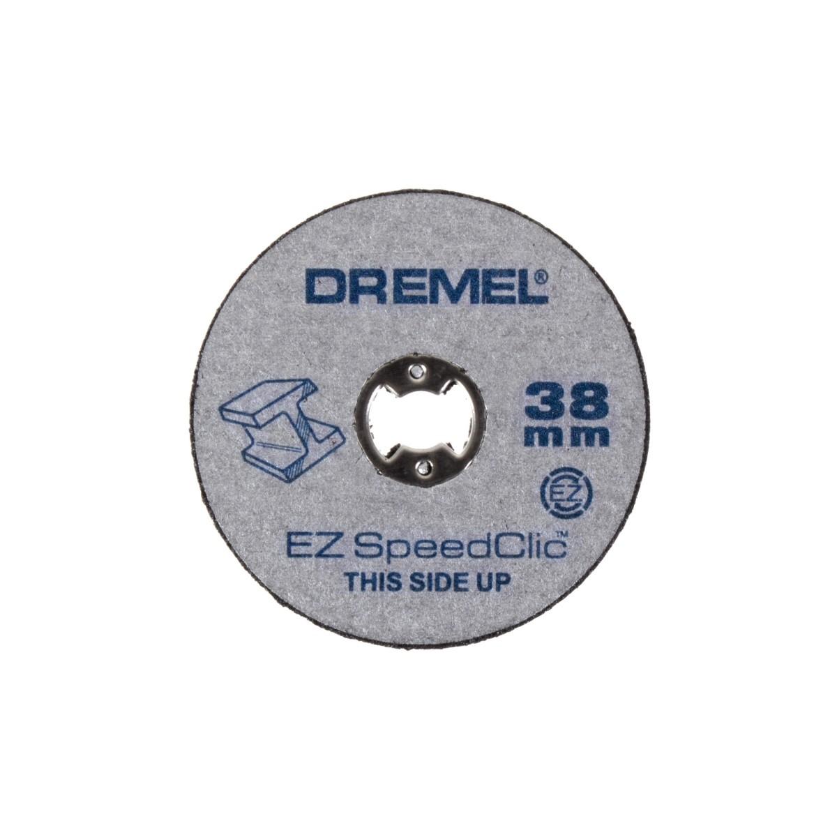Набор отрезных кругов Dremel SC456 резка металл/дерево/пластмасса 38 мм 12 шт.