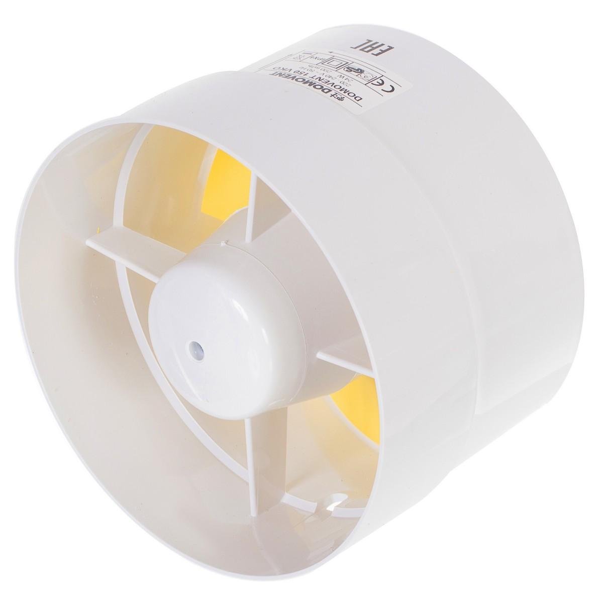 Вентилятор канальный Домовент 150 ВКО D150 мм 24 Вт