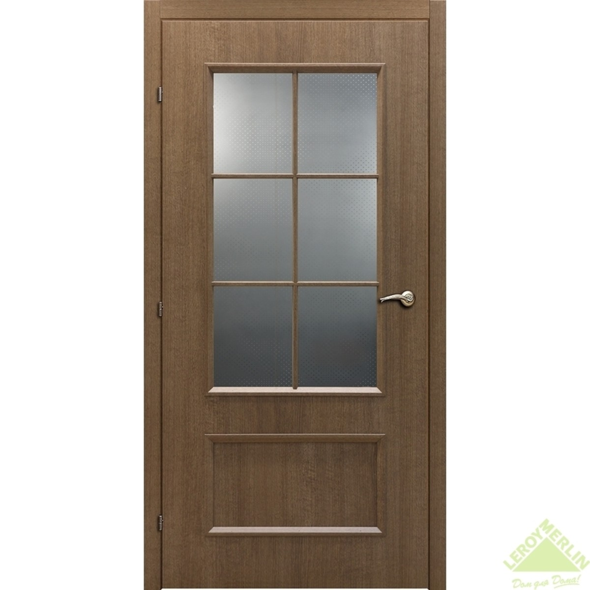 Дверь Межкомнатная Остеклённая 5003 Кд 21-10 Дуб Риэль С Фурнитурой