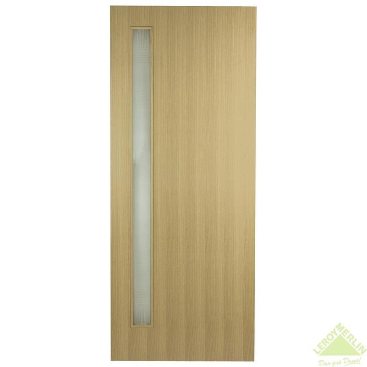 Дверь межкомнатная остеклённая Vario 601 MR 600x2000 мм орех нуга