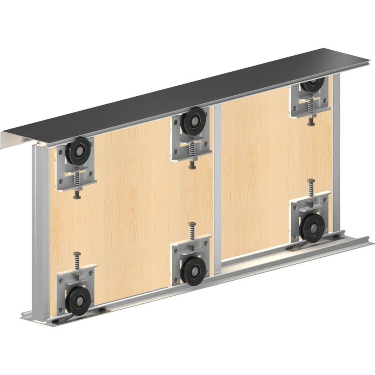 Система для раздвижных дверей Betta 1800 мм для 2 дверей цвет золото