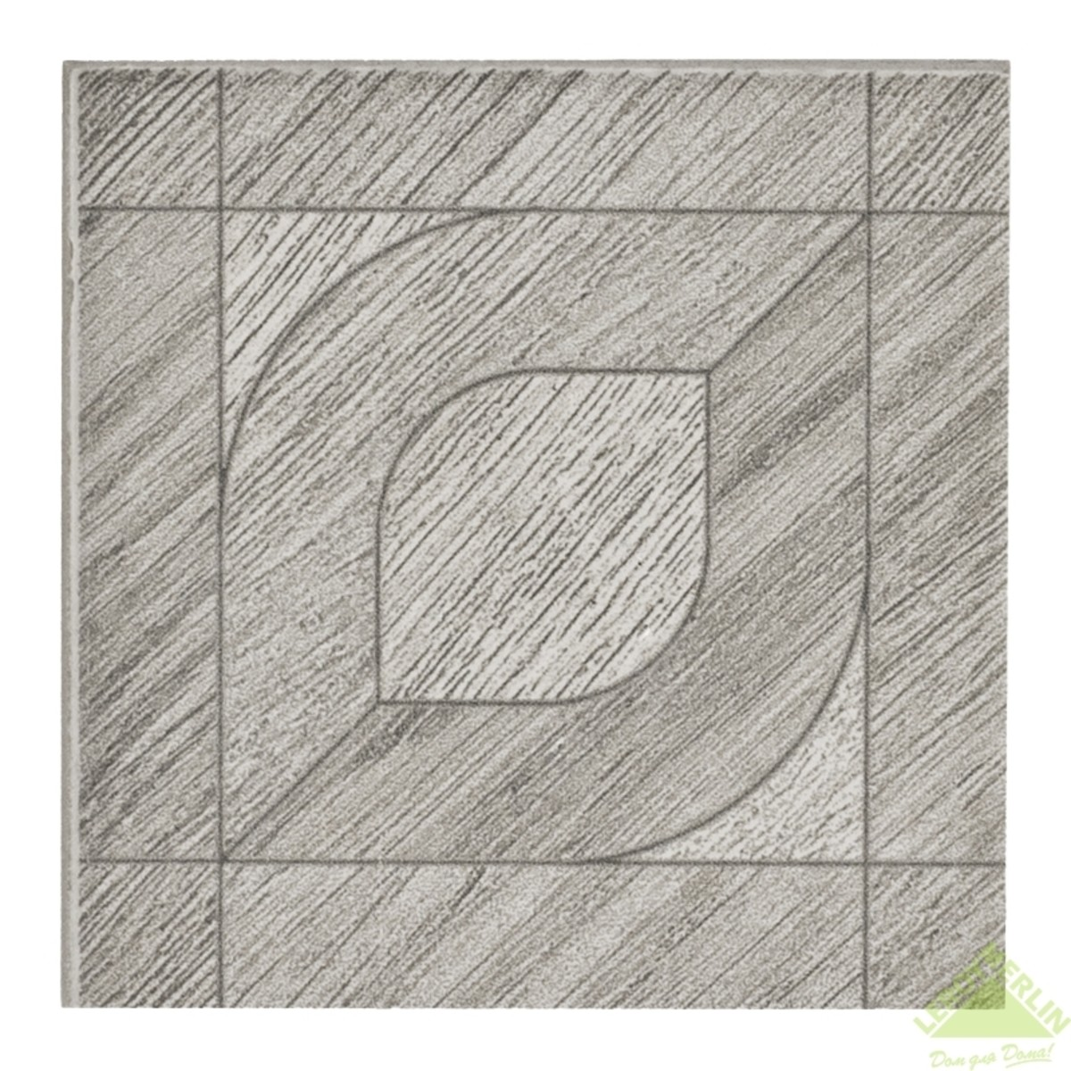 Вставка Wooden Palace Grey 85х85 см