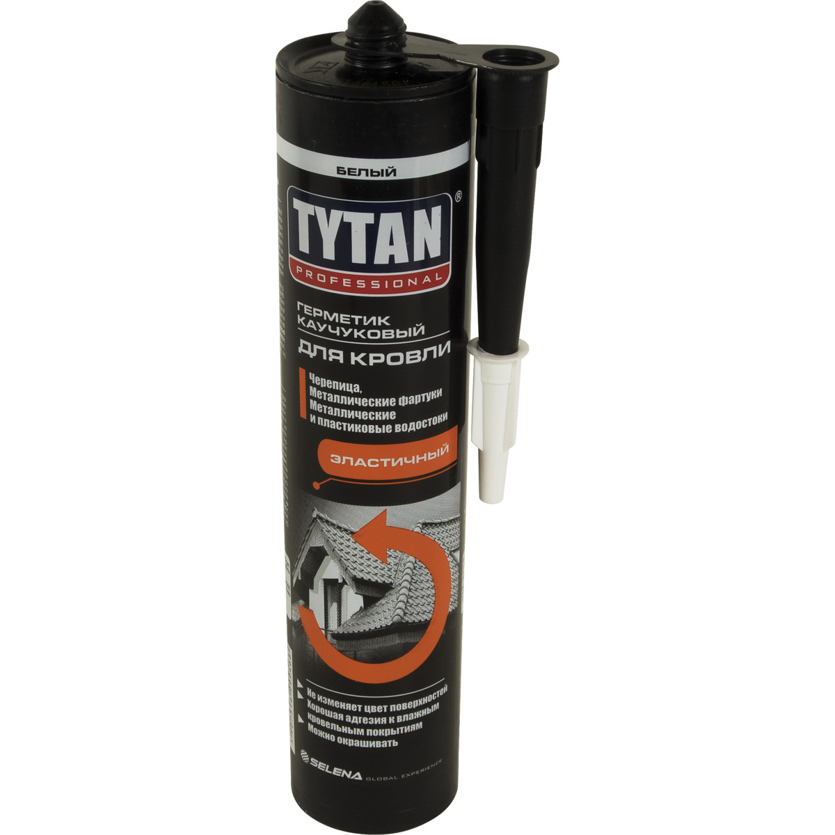 Герметик каучуковый кровельный белый Tytan Professional 310 мл