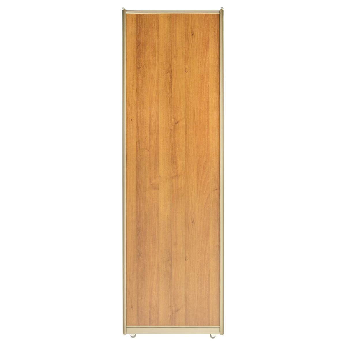 Дверь-купе 2251х704 мм цвет орех/шампань