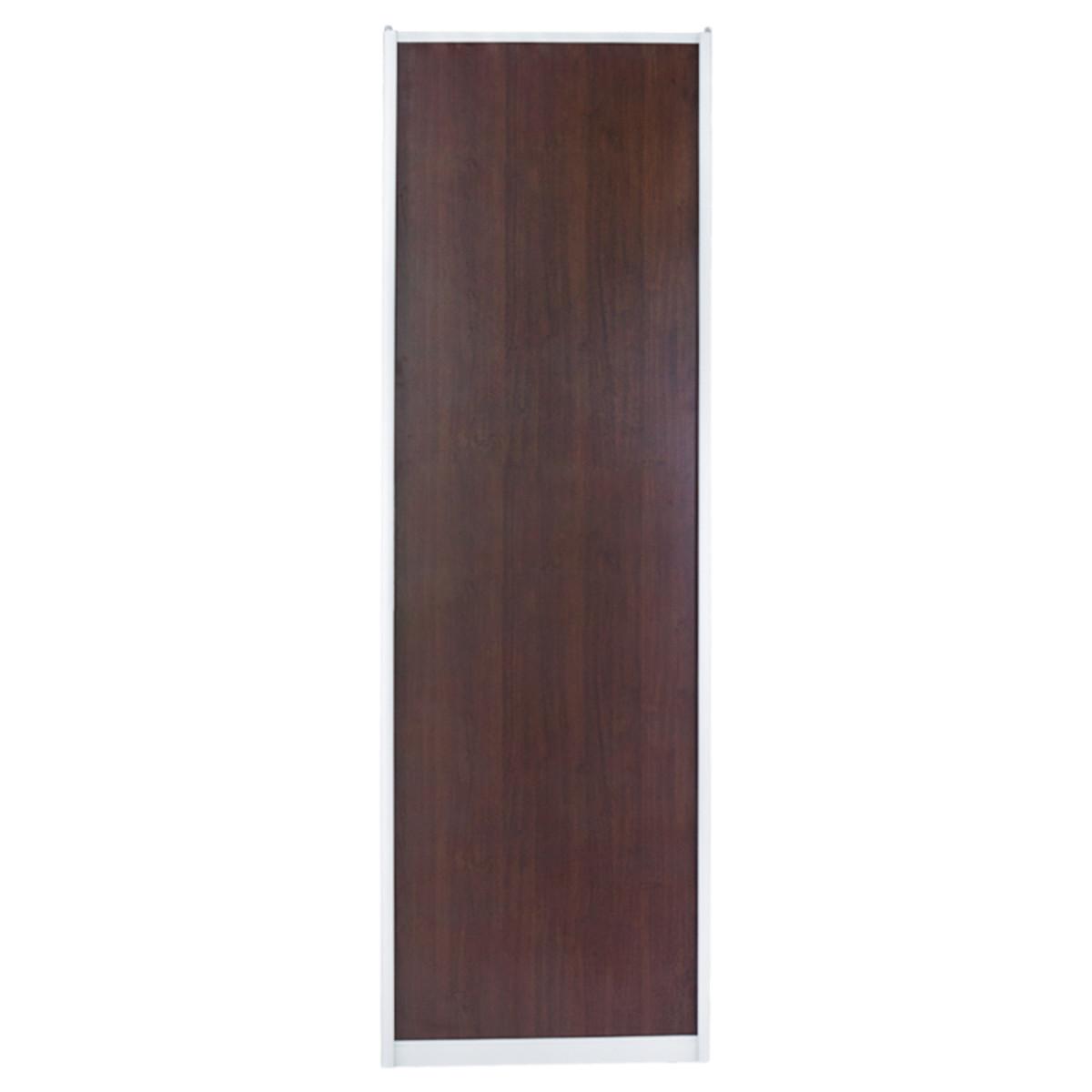 Дверь-купе 2251х704 мм цвет венге/серебро