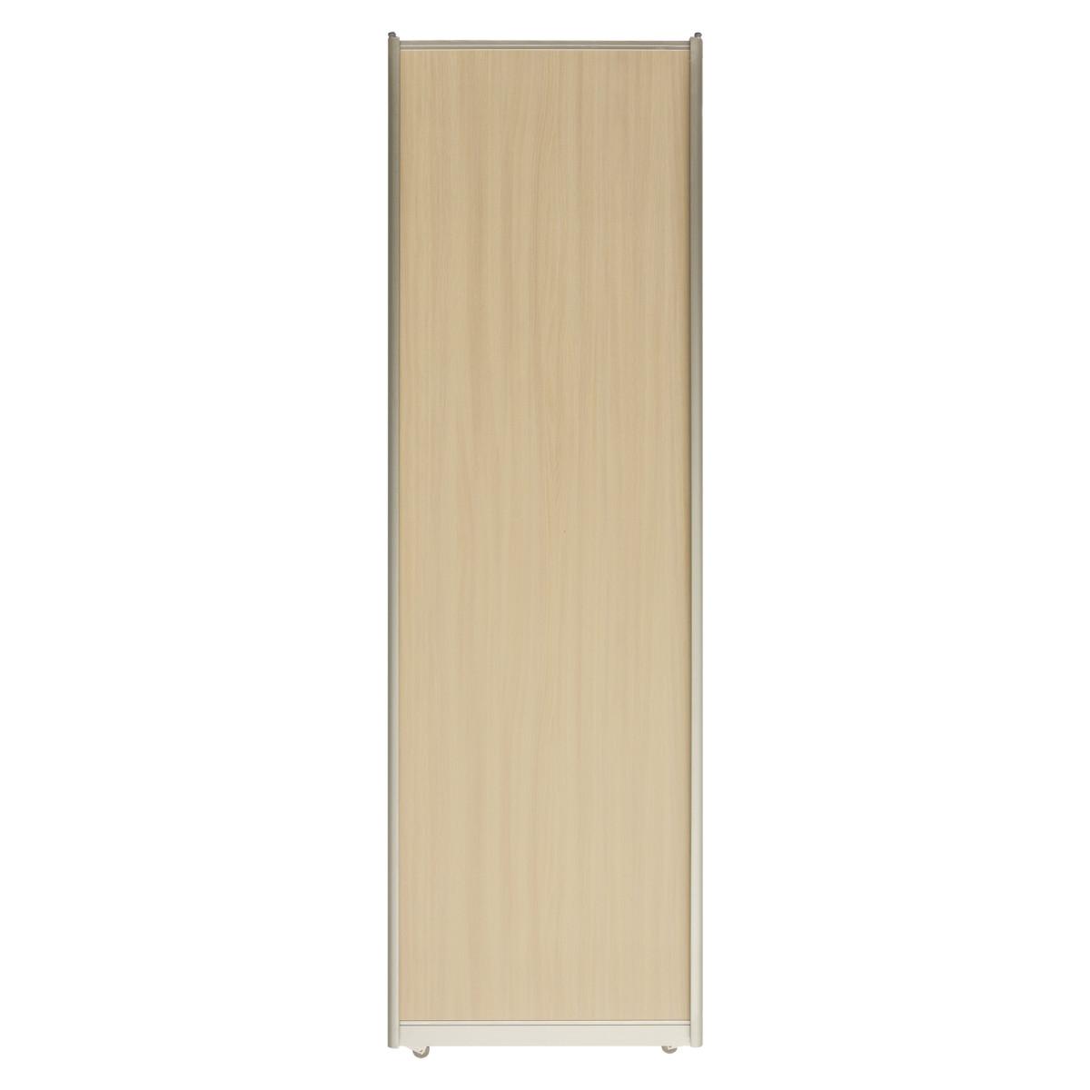 Дверь-купе 2251х704 мм цвет дуб беленый/серебро