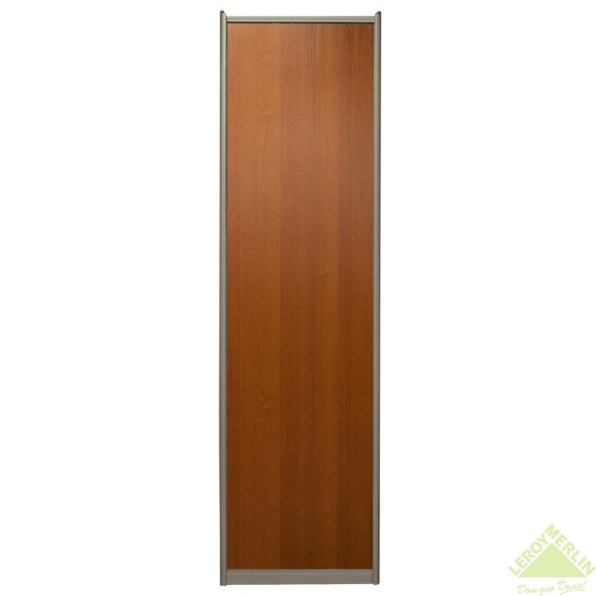 Дверь-купе 2595х704 мм цвет вишня/шампань