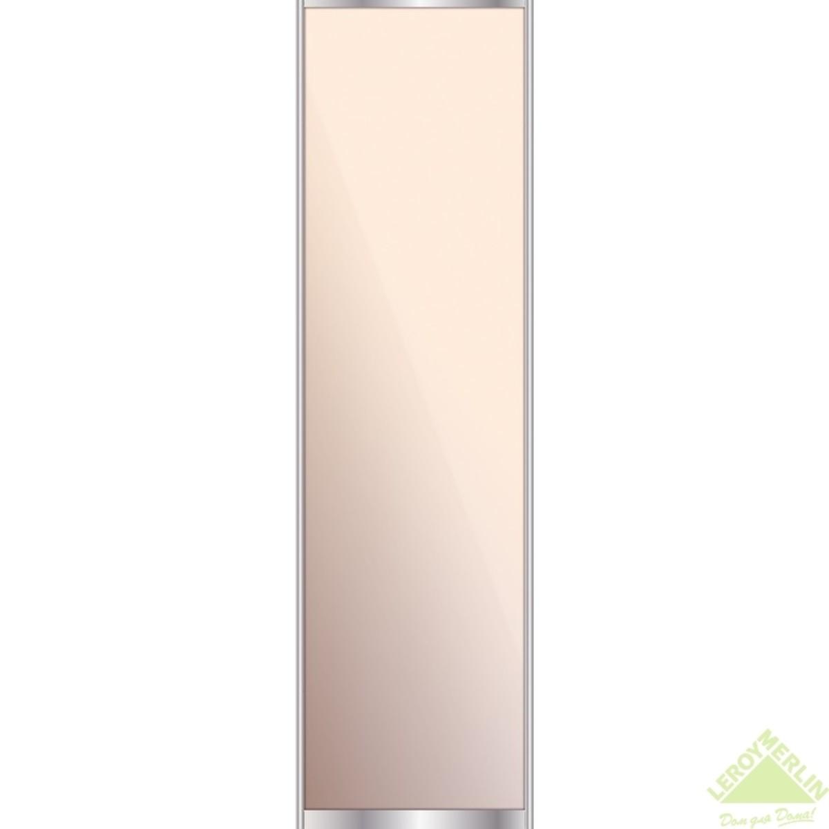 Дверь-купе 2595х704 мм зеркало цвет серебро