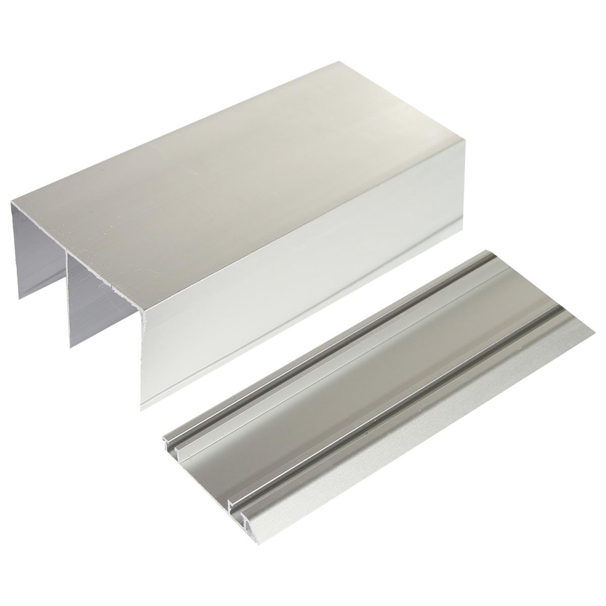 Комплект направляющих 1183 мм для шкафа 1215 мм цвет серебро