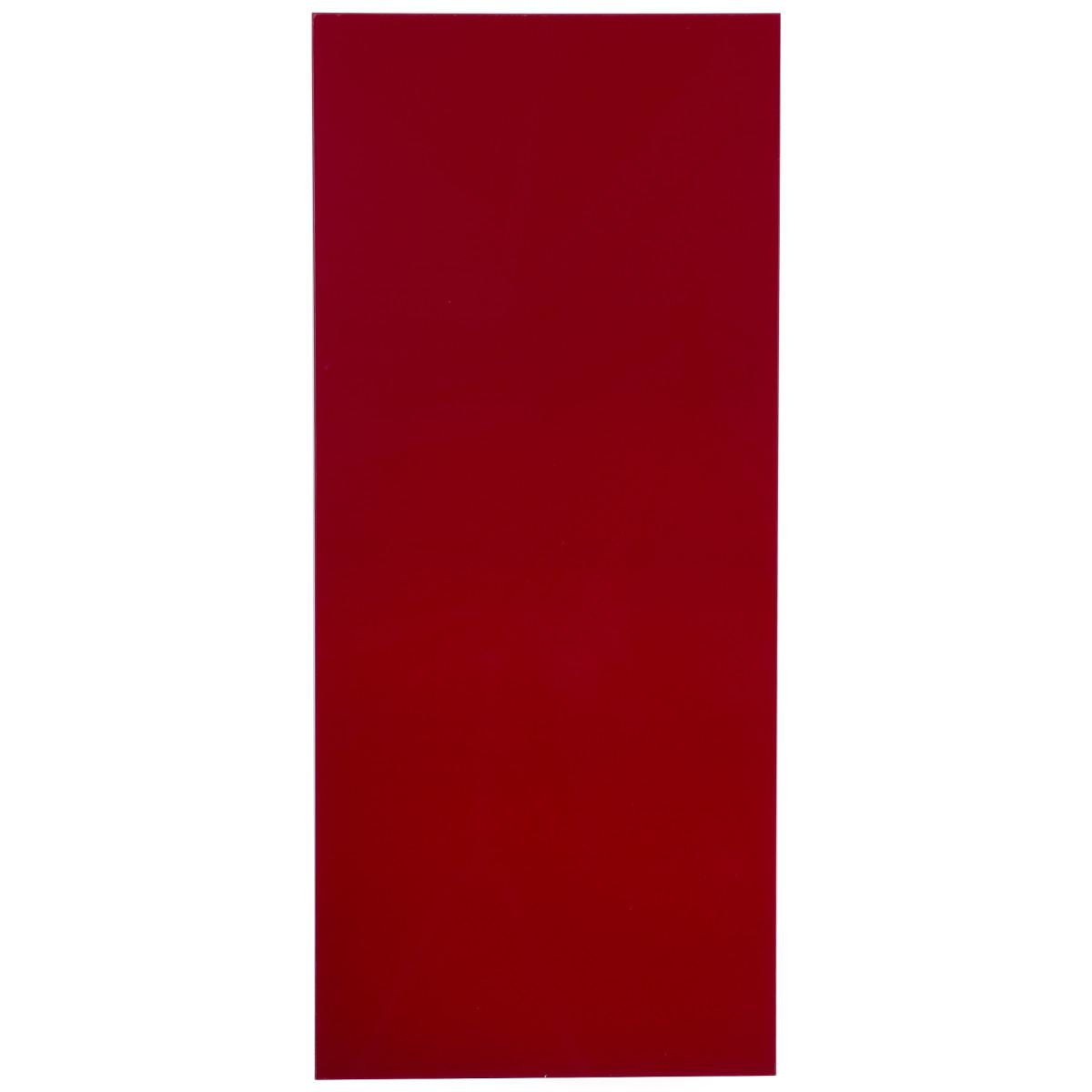 Дверь для шкафа «Бордо» 40х92 см ЛМДФ/пластик цвет бордо