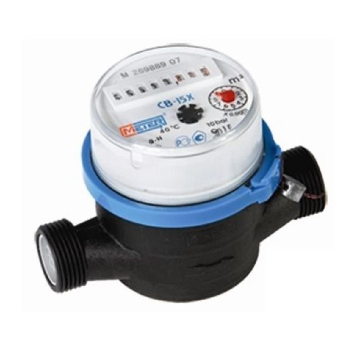 Счетчик воды Метер СВ-15 полимер 110 мм