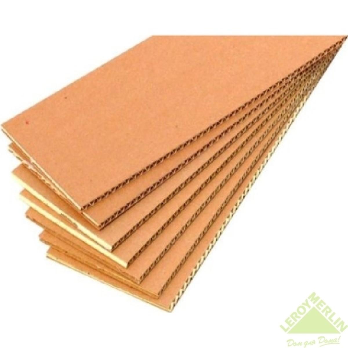 Лист гофрокартона 117.5х75 см