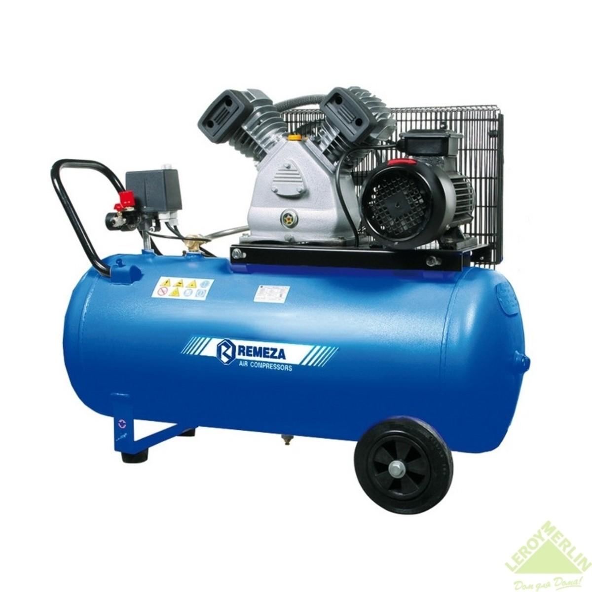 Компрессор масляный 200 л 3 кВт 500 л/мин.