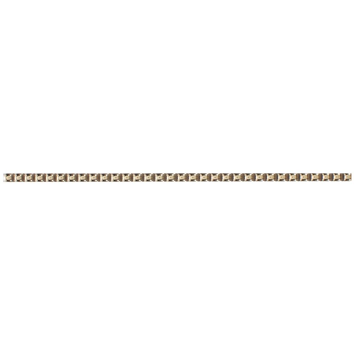 Бордюр «Бусинки» 7х250 мм цвет золотой