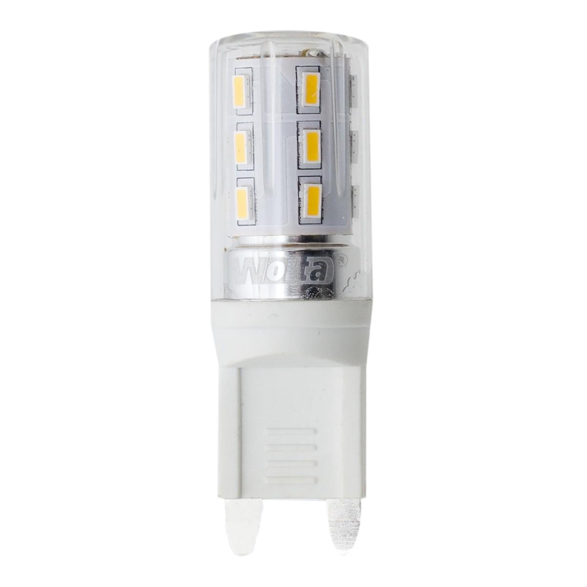 Лампа светодиодная Wolta капсула G9 2.5 Вт 200 Лм свет тёплый белый