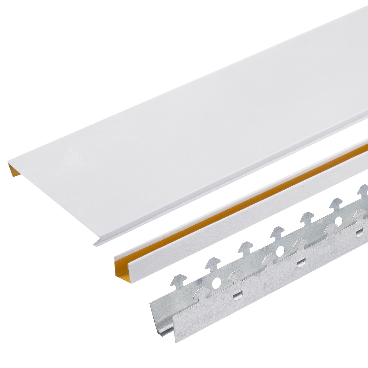 Комплект потолка 1.35х0.9 м цвет белый шёлк