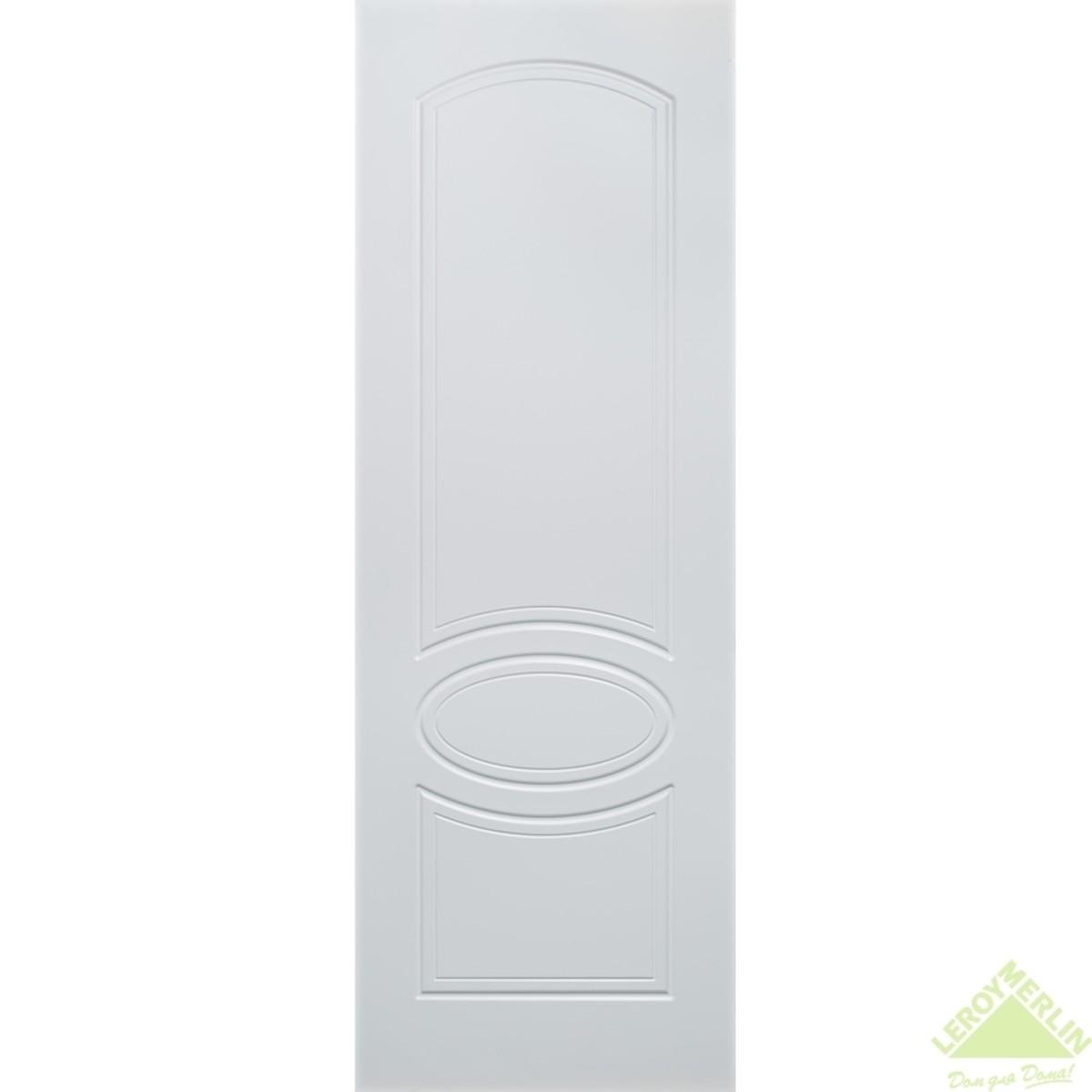 Полотно дверное глухое Аккорд 900x2000 мм эмаль белая