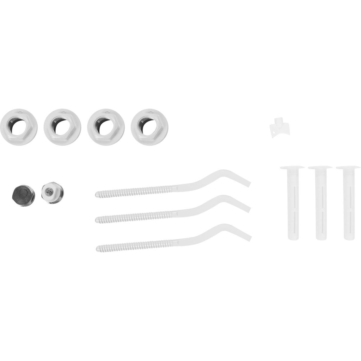 Комплект для подключения радиатора c кронштейном 1&#34x 1/2&#34