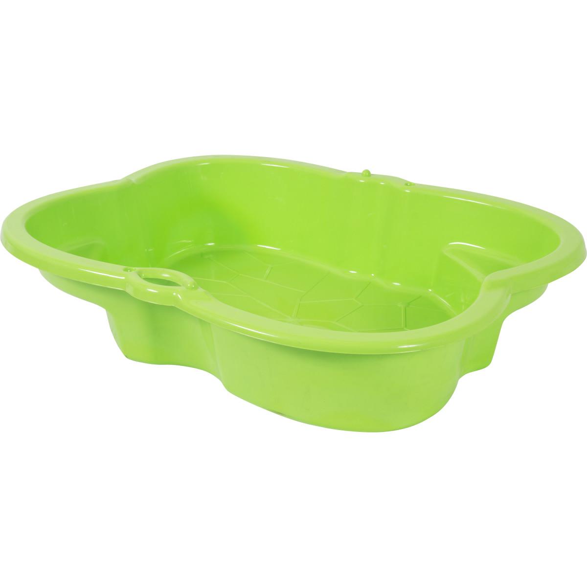 Песочница детская салатовая пластиковая 96х72 см