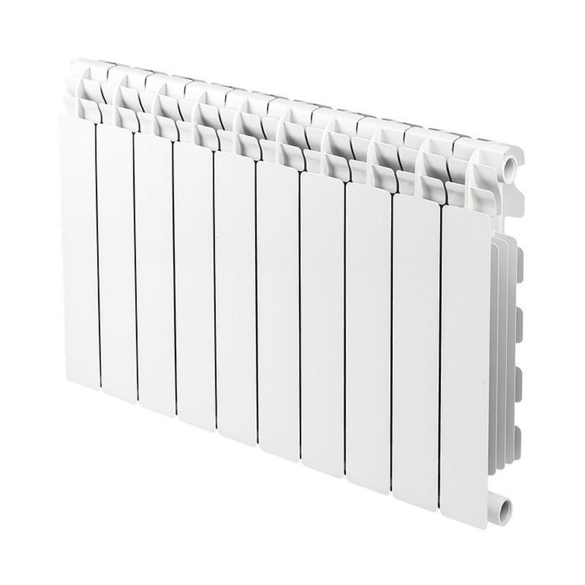 Радиатор Futural 500/100 10 секций алюминий