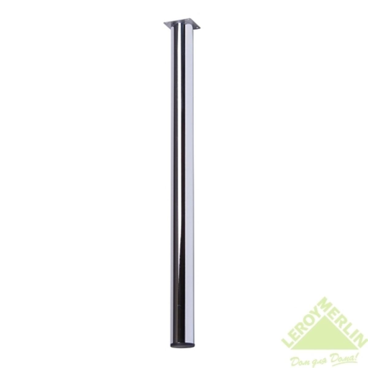 Комплект ножек для стола хром 50 мм (квадратный крепеж)