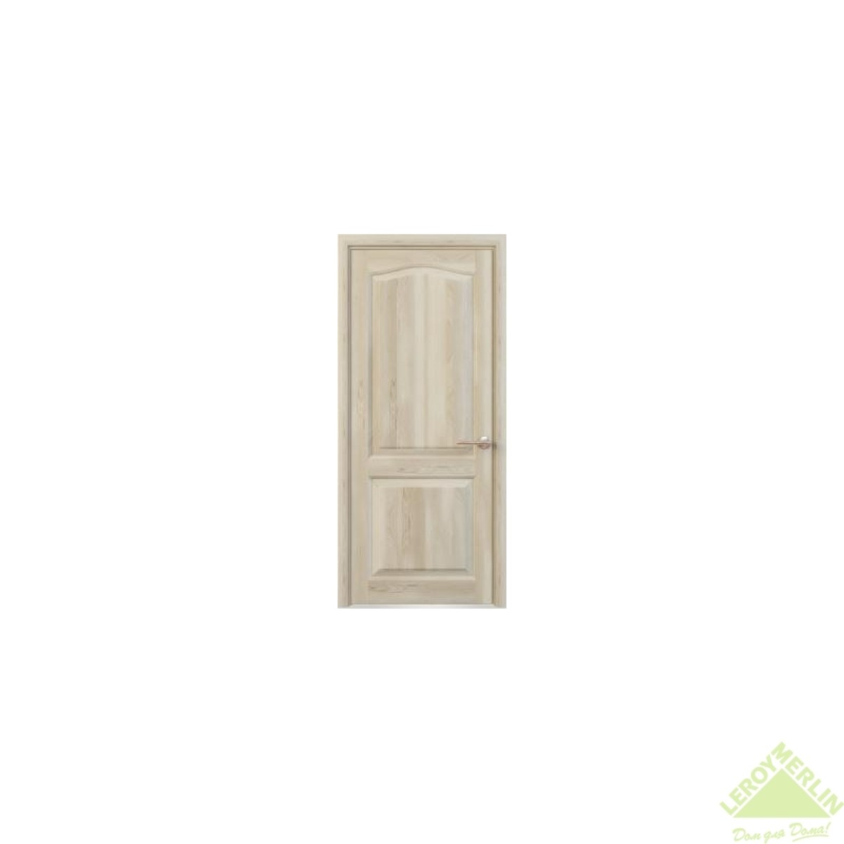 Полотно дверное глухое ЭКО 4221 80x200 см ламинация цвет сосна