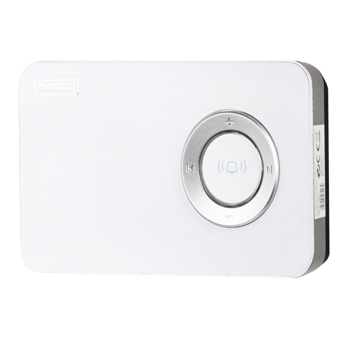 Звонок беспроводной Evology MP3 цвет металл
