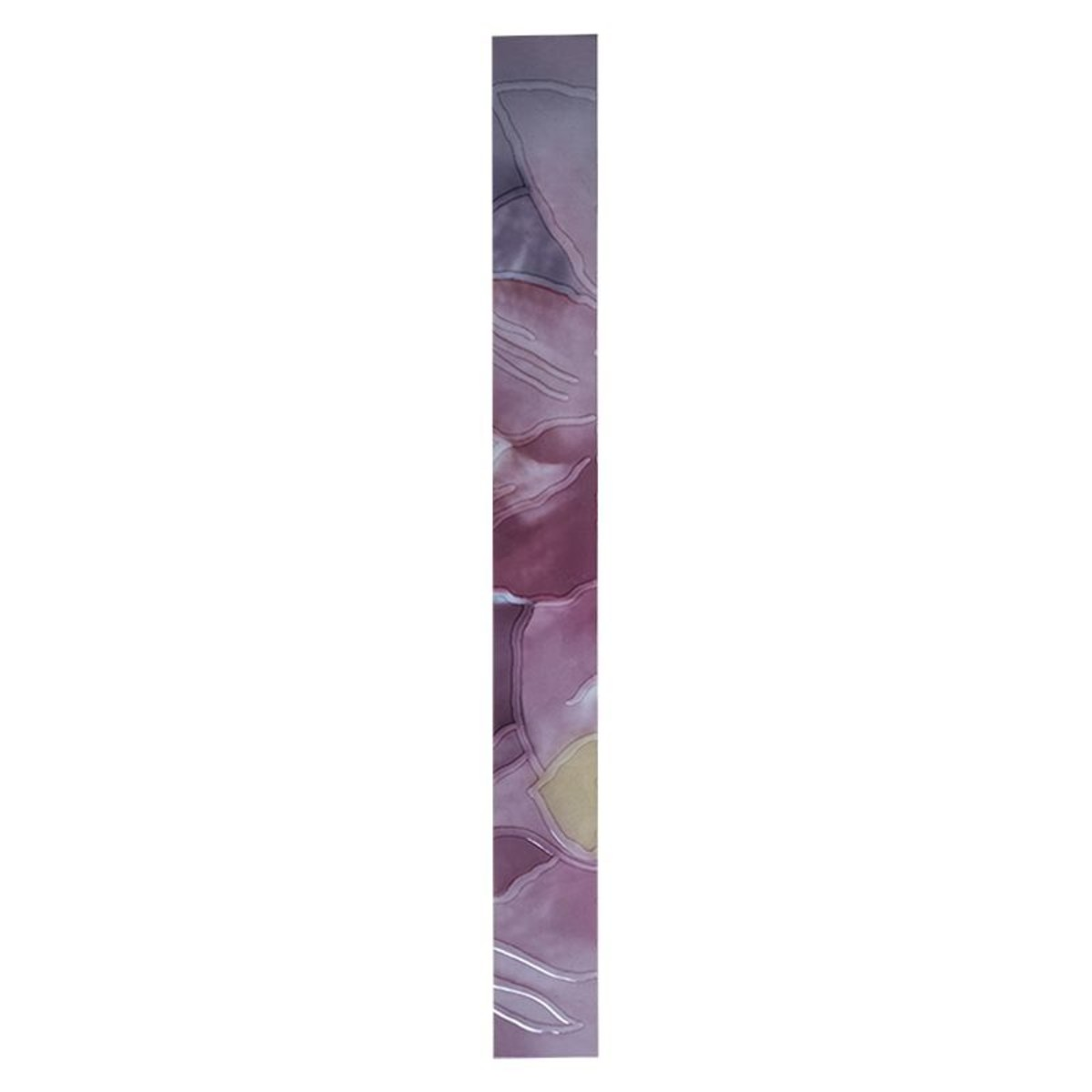 Бордюр «Жасмин 500 Climatis» 5х50 см цвет фиолетовый